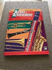 Alfred's Accent on Achievement E Flat Baritone Saxophone Book 2