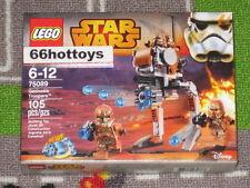 LEGO 75089 Star Wars Geonosis Troopers NEW