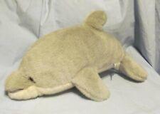 1992 A&A Dolphin Porpoise Plush Stuffed Flipper Gray White Dorsal Fin Soft Furry