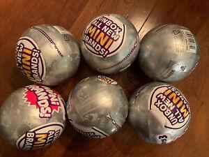 6 New Mini Brands Series 3 Gray Balls Zuru 5 Surprise Lot Of 6 Balls #DG20210421