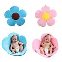 Newborn Baby Bathing Tub Safety Flower Petal Bathtub Pad Support Folding Mat US