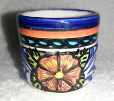 Mexican Shot Glass Style Collectible Drink Sip Cup Hand Painted Tequila Vessel