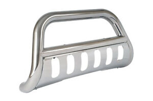 """Dee Zee - 3"""" Polished Bull Bar with Skid Plate for 11-18 Chevrolet #DZ507517"""