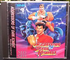 Aggressors of Dark Kombat. Neo-Geo CD Console.Game. New