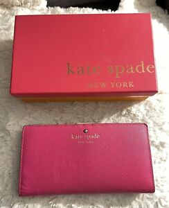 Kate Spade New York Mikas Pond Stacy PWRU2127 Pink Wallet