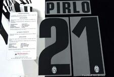 Juventus PIRLO 21 football shirt Nom/Numéro Set Kit SERIE A 2013/14 Away