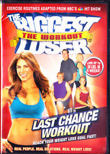 The Biggest Loser: Last Chance Workout (DVD, Widescreen, 2009) Jillian Michaels