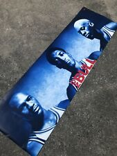 Michael Jordan Scottie Pippen Dennis Rodman Vintage 1996 Nike NO BULL Poster