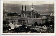 Prag Praha Prague Tschechien Postkarte ~1950/60 Burg Hradschin Hradčany