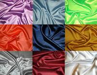 Satin (€10/m²) 0,3 m Karneval Fasching  versch. Farben 1,5 m breit unifarben