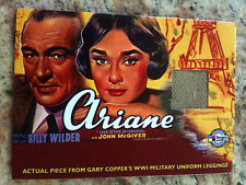 """CLASSIC VINTAGE MOVIE POSTERS """"ARIANE"""" GARY COOPER SWATCH  VC1 AMERICANA"""
