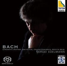 Sergei Edelmann - Bach: Chromatic Fantasy and Fugue; Italian Concerto; Partit...