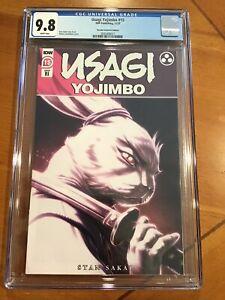 USAGI YOJIMBO #15 IDW PUBLISHING 11/20 RI COVER  MATEUS SANTOLOUCO CGC 9.8 1:10
