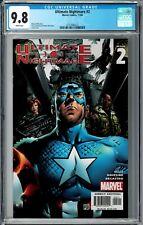 Ultimate Nightmare #2 CGC 9.8 (Nov 2004, Marvel) Warren Ellis story, X-Men, Fury