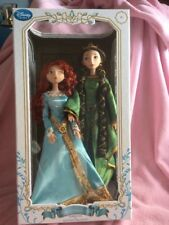 Disney Store Limited Edition Merida and Elinor Doll Set