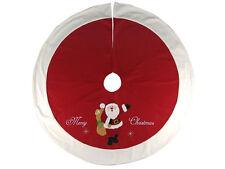 Christmas Tree Skirt Surround - Merry Christmas Santa design - ON SALE