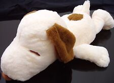 "SNOOPY PLUSH 25"" AUTHENTIC JAPAN STUFFED ANIMAL DOLL  VINTAGE TYPE BROWN NWT"