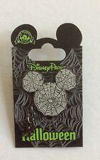 MICKEY MOUSE Halloween Spider Web Dangle Pin Disney