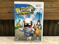 Rayman Raving Rabbids 2 (Nintendo Wii, 2007) TESTED COMPLETE  FREE SHIPPING