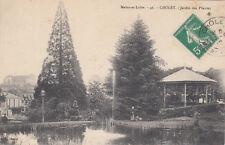 CHOLET 46 jardin des plantes timbrée 1902