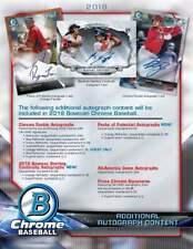 TEXAS RANGERS 2018 BOWMAN CHROME HOBBY BASEBALL 6 BOX HALF CASE BREAK #3