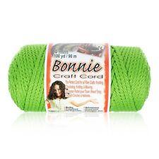 Bonnie Cord 4mm diameter 100 yards - Many Colo 00004000 rs - Macramé, Knitting, Weaving