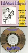 LITTLE ANTHONY & THE IMPERIALS Lil Bit of Gold MINI 3 INCH CD single GOLD DISC