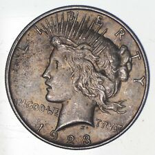 Early - 1923-D - Peace Silver Dollar - 90% US Coin *071