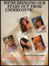 CABALLERO__Original 1983 Print AD / video promo__Kitten Natividad__Shauna Grant