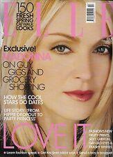 ELLE Magazine February 2001 Madonna