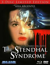 Stendhal Syndrome 3-Disc Limited Edition Blu Ray Dario Argento 1996 uncut