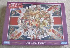 BRAND NEW GIBSONS OUR ROYAL FAMILY 1000 PIECE JIGSAW PUZZLE