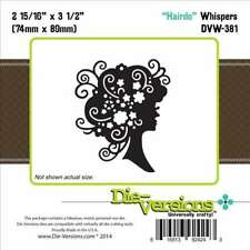 Die-versions - Hairdo Die - Compatible with Cuttlebug &Sizzix