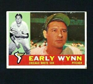 1960 Topps  #1 Early Wynn, Chicago White Sox - ScoCards