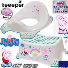 Keeeper Toddler Toilet Training Seat & Step Stool Peppa Pig anti-slip