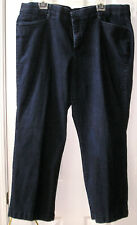 Womens Dress Jeans by JM Collection Size 22WP Blue Denim Jeans Stretch Boot Cut