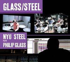 NYU Steel Plays Philip Glass 0801837007527 by Glass CD