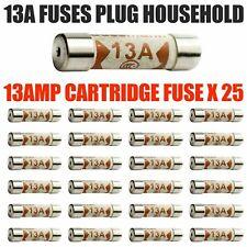 25x 13AMP Domestic Fuses Plug Top Household Mains 13amp Fuse Cartridge Fuse UK