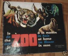 Zoo in Casa Cox International  anni 1972 COMPLETO