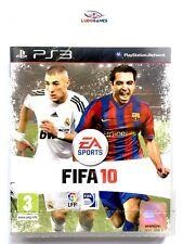 Fifa 10 PS3 Playstation Nuevo Videojuego Retro Precintado Sealed Brand New SPA