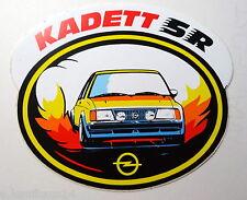 Aufkleber OPEL D KADETT SR GT/E 80er Jahre Oldtimer Sticker Autocollant Decal
