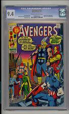 Avengers #92 CGC 9.4 NM Unrestored Marvel Captain Marvel last 15 cent issue
