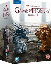 GAME OF THRONES COMPLETE SEASON 1,2,3,4,5,6 & 7 BLU RAY BOXSET 1-7 Express Post!