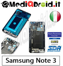 SAMSUNG NOTE 3 N9005 MIDDLE METAL PLATE FRAME CORNICE TELAIO CENTRALE LATERALE