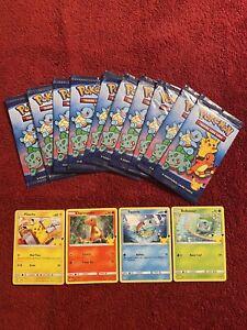 2021 McDonalds Pokemon 25th Anniversary Sealed Pack Lot