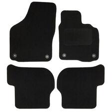 VW Golf 6 08-13 - Sakura Tailored Deluxe Carpet Car Floor Mat Set 4 Pieces Black