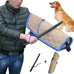 Big Dog Bite Sleeve & Stick Whip Heavy Duty Training Intermediate Pitbulls K9
