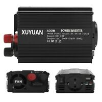 DC 12V to AC 220V Power Inverter Correction Sine Wave Charge Converter Caravan