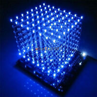 3D Light Squared DIY Kit 8x8x8 3mm LED Cube Blue Ray LED M114