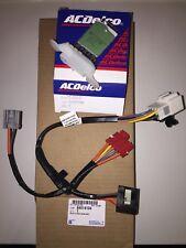 GM OEM Blower Motor-Resistor 10397098 and harness 84014104